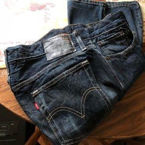 Levi's 527 low boot cut jeans
